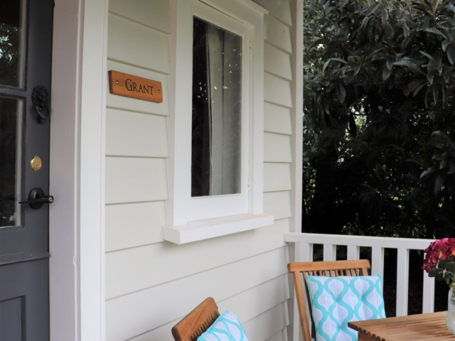 Grant Private Entrance (to bedroom 2) – Awenydd Cottage B&B, Ohaupo