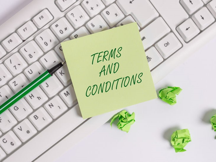 Terms and Conditions of Stay